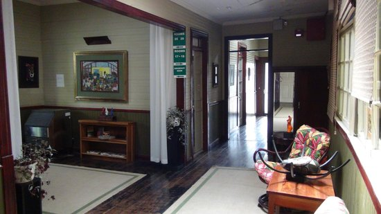 Hotel Aranjuez : corridor