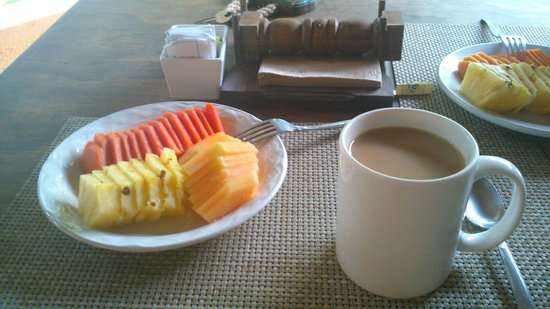 Retiro Maya Villas: Desayuno básico