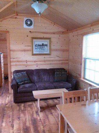 Hersheypark Camping Resort: Sitting area