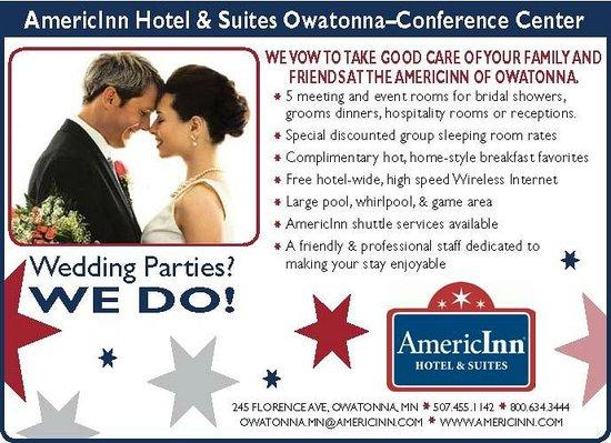 Baymont Inn & Suites : Weddings ... WE DO!!!