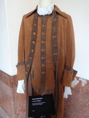 Teatro Massimo: Vestimenta usada por los actores.