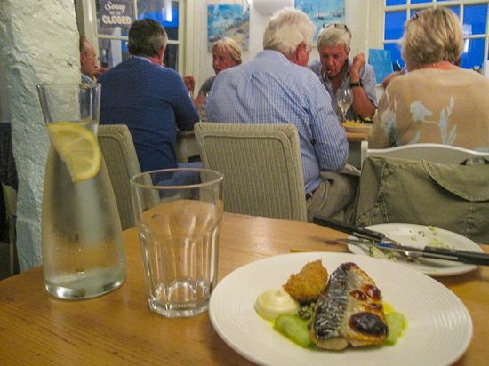 Outlaw's Fish Kitchen - the very excellent mackerel