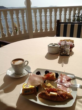 Grand Hotel Palladium : The breakfast