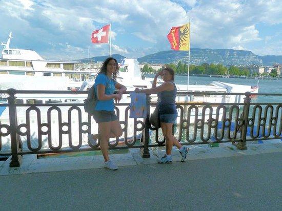 Lac Léman (Lac de Genève) : Margem do Lago
