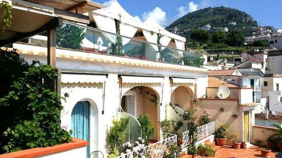 Hotel Bonadies : PROSPETTO CON AFFACCIO VISTA MARE