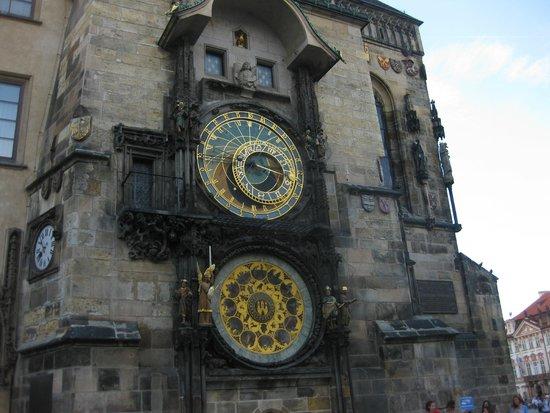 Hotel Paris Prague : Astronomical clock