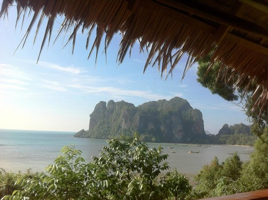 Railay Garden View Resort: The view from the breakfast area of the hotel