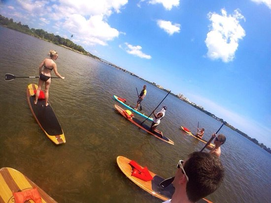 Three Brothers Boards Dolphin and Manatee Paddle Board Tours: The coolest guide ever; Eric!