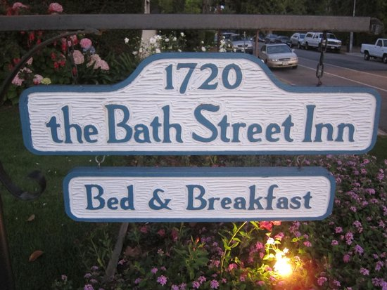 Bath Street Inn: Hotelschild