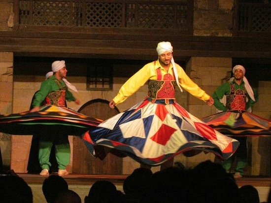 Al-Tannoura Egyptian Heritage Dance Troupe : Egyptian Tanoura Dance 2