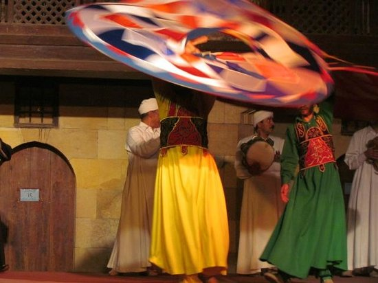 Al-Tannoura Egyptian Heritage Dance Troupe : Egyptian Tanoura Dance 4