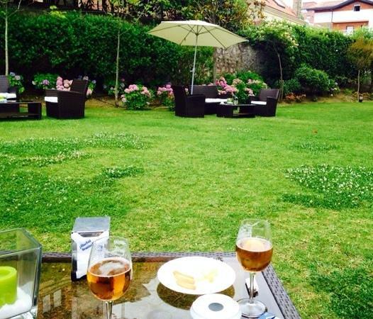 Gran Hotel Victoria : cervecita en la terraza...