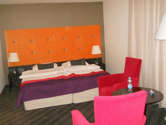 Radisson Blu Sobieski Hotel Warsaw: The bed
