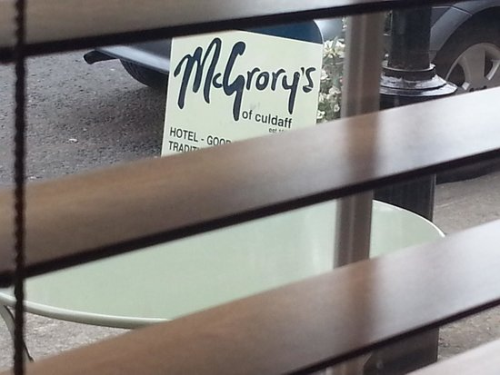 McGrory's Hotel: McGrorys Sign