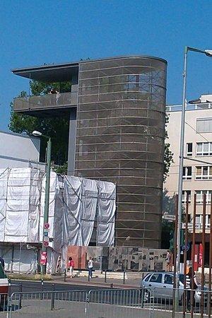 Gedenkstätte Berliner Mauer: Berlin wall tower