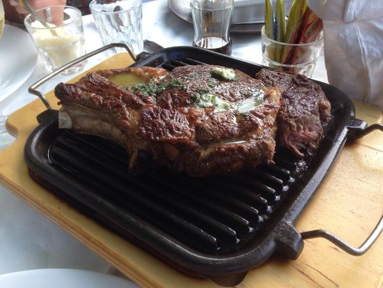 La Gallina che Fuma: Excellent T-Bone steak, for 2 persons!