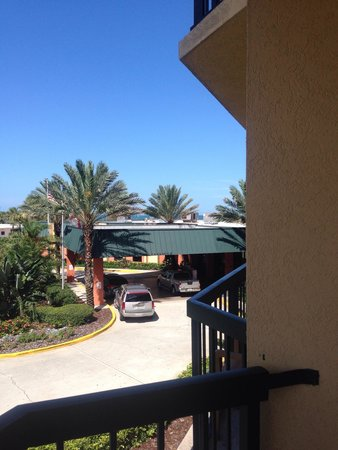 DoubleTree by Hilton Hotel Cocoa Beach Oceanfront: Ocean view??