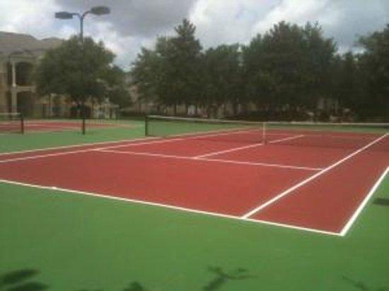 Windsor Palms Resort : Tennis Courts (June 2014)