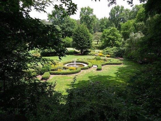 Overlook of the butterfly garden - Picture of The Greensboro ...