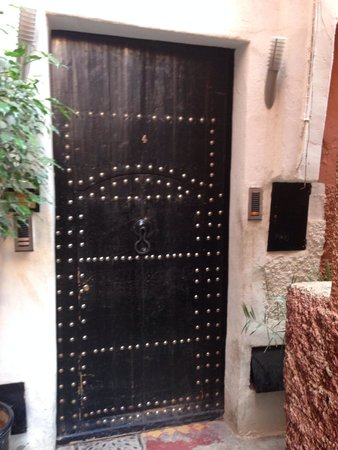 Riad Villa Wenge: Entrance