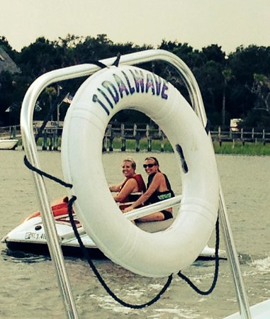 Tidalwave Watersports: Jet skiing with my bff