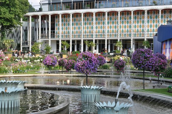 Tivoli Gardens: Сад
