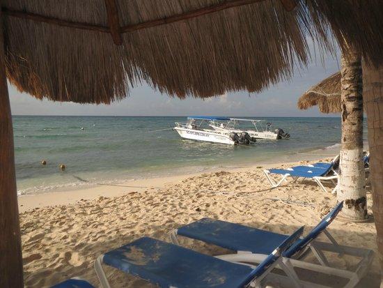 Sandos Caracol Eco Resort: strand