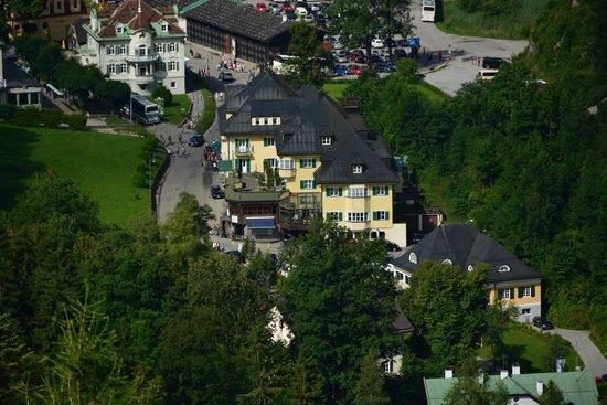 Hotel Mueller: Отель Мюллер (фото из замка Нойшвайштайн)