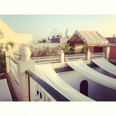 Riad Aguerzame: view from the terrace
