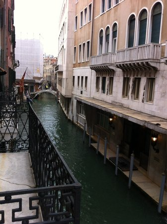 Corte Barozzi Venice Suites: View from the balcony