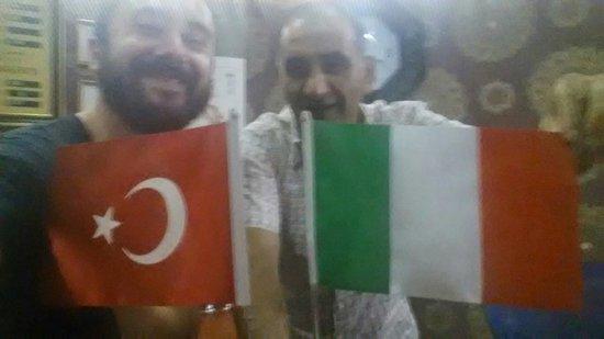 Sirma Sultan Hotel Istanbul: Io e Roberto.. che ve lo dico a fa'