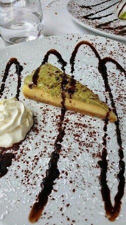 Emotion Restaurant: Cheesecake di pistacchio