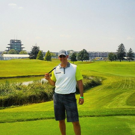Brickyard Crossing Golf Course: Par 3 inside the Indianapolis Motor Speedway.