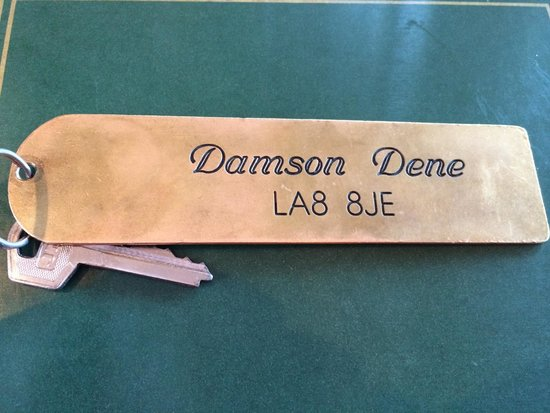 Damson Dene Hotel: Room key