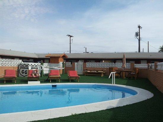 Globetrotter Lodge: Pool area
