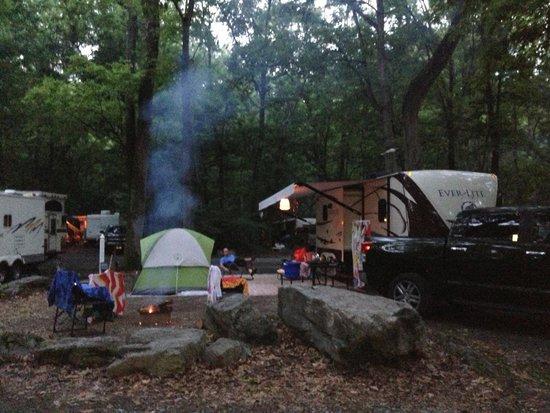 Yogi Bear's Jellystone Park Camp-Resort Hagerstown: Site 109