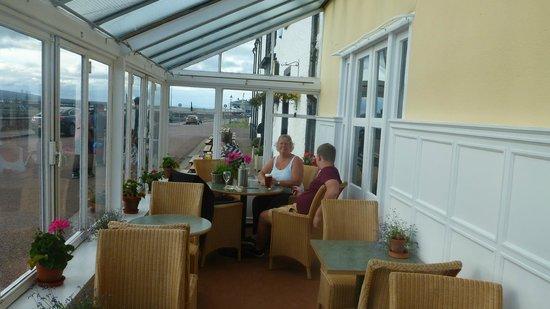 Royal Hotel Cromarty: Winter garden Hotel Cromarty
