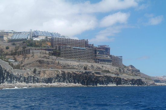 Gloria Palace Amadores Thalasso & Hotel : shot from a boat trip