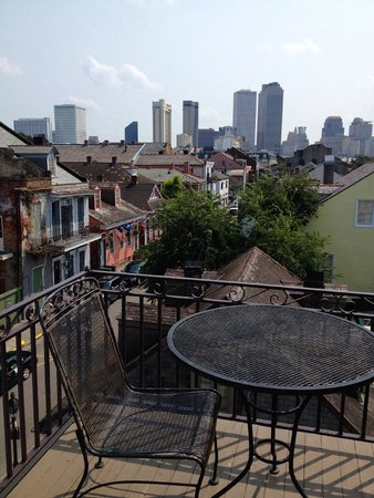 Lafitte Guest House: Balcony view