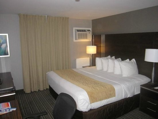 Comfort Inn City Centre: The room