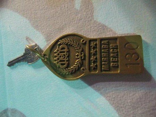 Marhaba Beach Hotel: ключ
