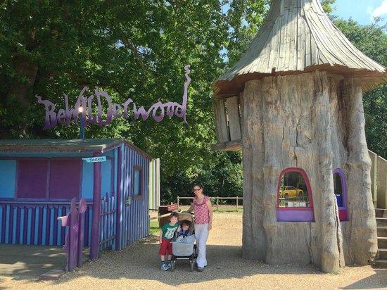 BeWILDerwood: Brilliant tree houses