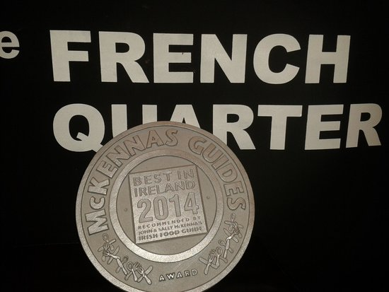 The French Quarter Cafe: Our 2014 Good Food Guide Award