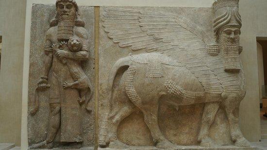 Gilgamesh et le lion taureau androc phale photo de mus e du louvre paris tripadvisor - Musee du louvre billet coupe file ...