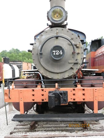 Museum of Transportation: Train Yard Photo