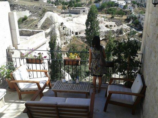 Babayan Evi Cave Boutique Hotel: Balkon