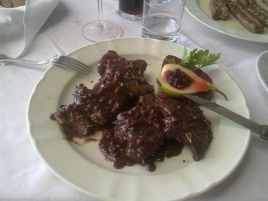Hotel Abete: cervo