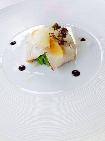 Ristorante Castel Toblino: Benvenuto dello chef