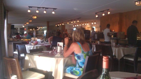 Pohenegamook Sante Plein Air 2.0: La salle à manger