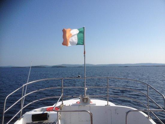 Corrib Cruises: The cool breeze of Lough Corrib.
